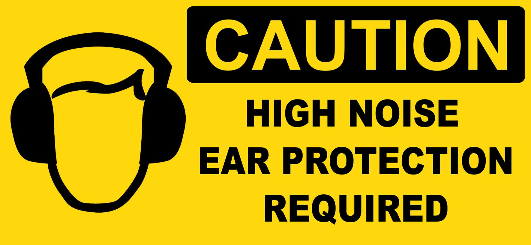 Safety First! Wear ear protection during sound test