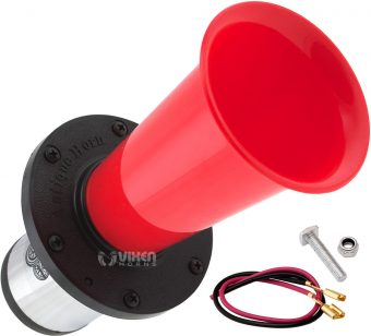 Vixen Horns VXS6200 46 Sounds Electronic Horn and Public Announcement 12V Musical//Siren//Alarm//Sound Effect//Animal